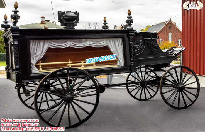 Funeral Horse Carriages Mnaufacturer
