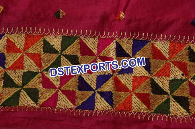 Phulkari Work Of Patiala