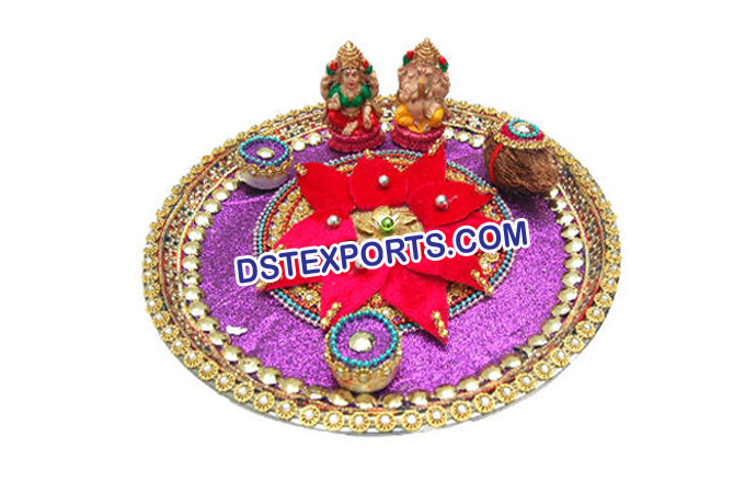 Indian Wedding Decoration Shagun Thaals