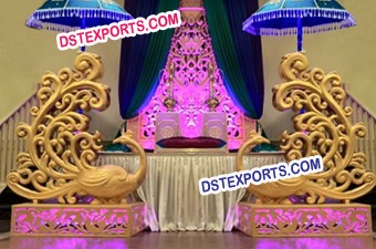 Wedding Welcome Fiber Statues
