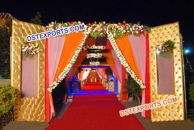 Indian Wedding Welcome Gates
