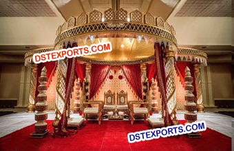 Wedding Crystal Mandap/Pagoda Manufacturer