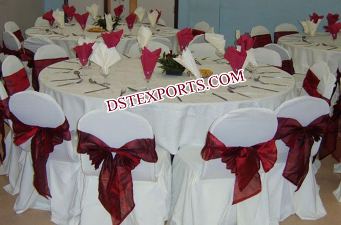 Banquet Hall Chair Covers Runner And Sashas