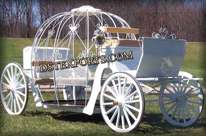 Wedding Decorated Cinderella Horse Carriages