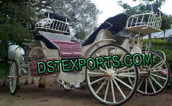 Wedding Designer Horse Carriage For Sale