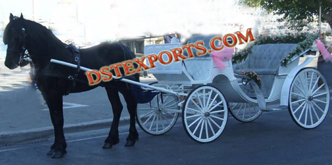 Latest White Horse Carriages Manufacturer