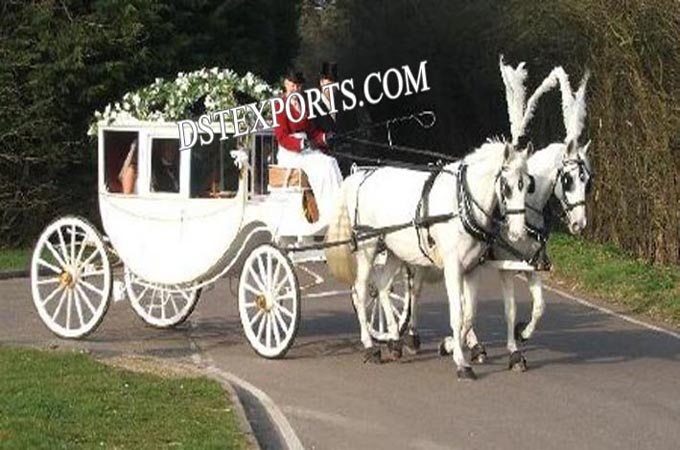 Royal Covered Horse Carriages