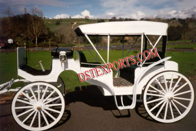 Wedding White Victoria Carriages