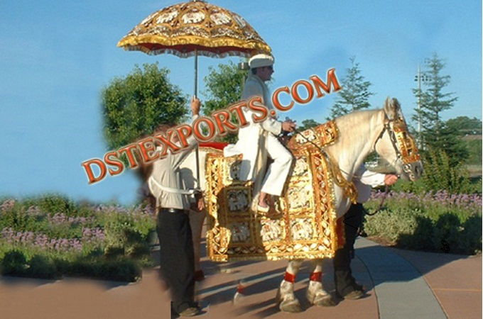 Indian Baraat Horse Costumes