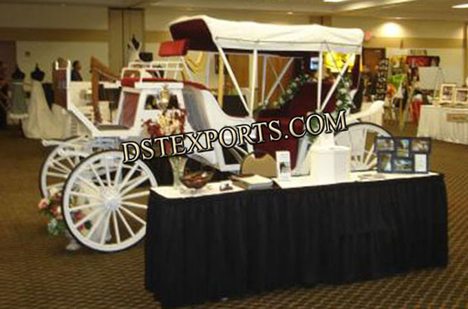 Victoria Carriages For Wedding Stage Decoration