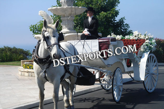 Wedding New Victoria Horse Drawn Baggy