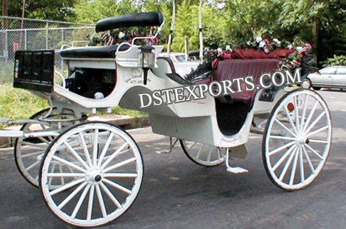 New Compact Victoria Horse Carriages