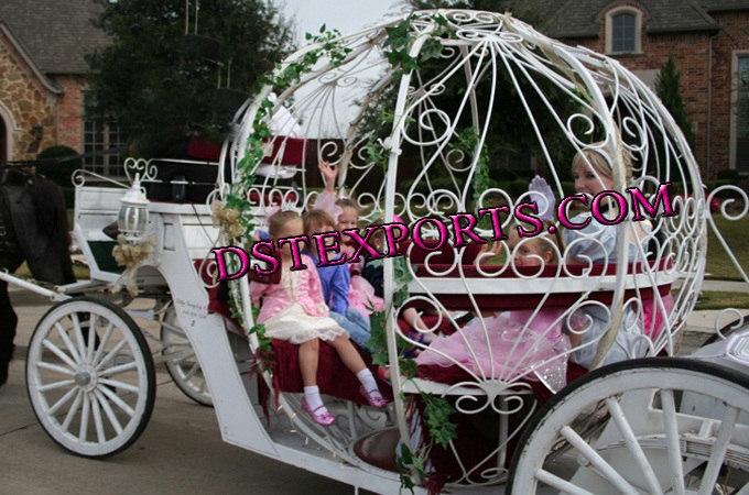 Childern Touring Cinderella Carriages