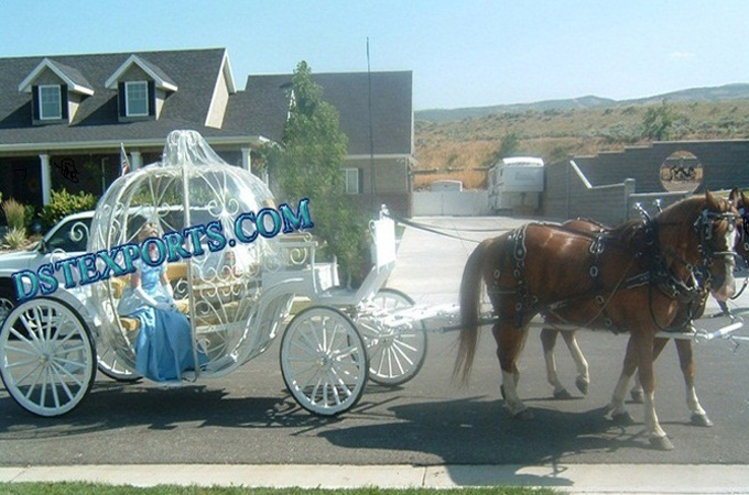 English Bride Cinderella Carriages