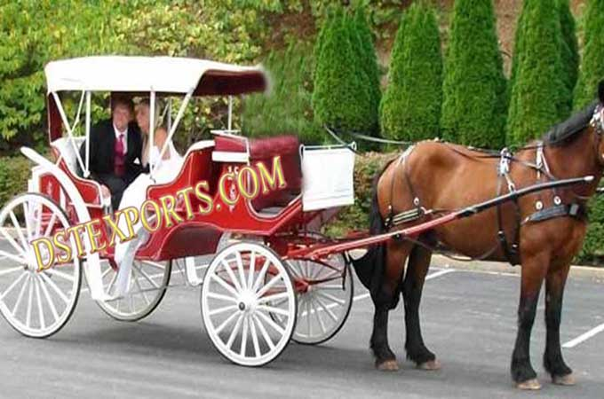 English Wedding Horse Drawn Carriages