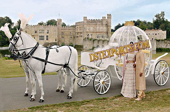 Love Marriage Cinderella Horse Carriage
