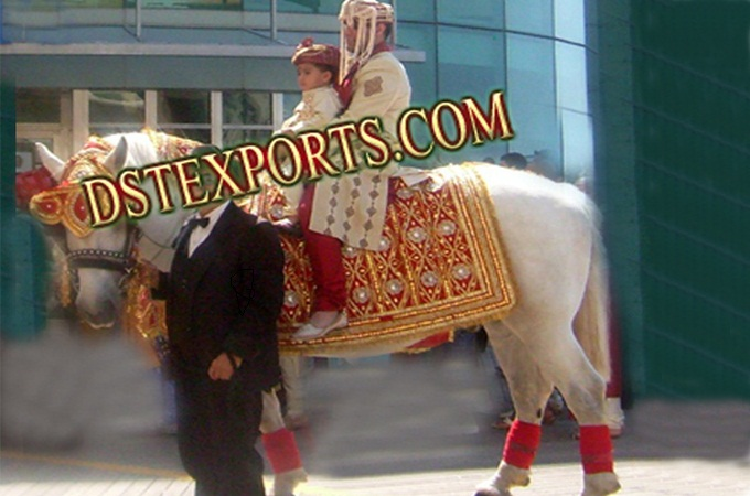 New Designer Wedding Horse Costume