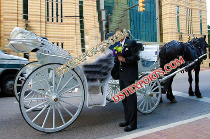 Horse Drawn Wedding Carriage For Suppliers