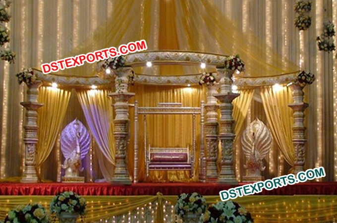 Indian Wedding Dev Stage With Swing