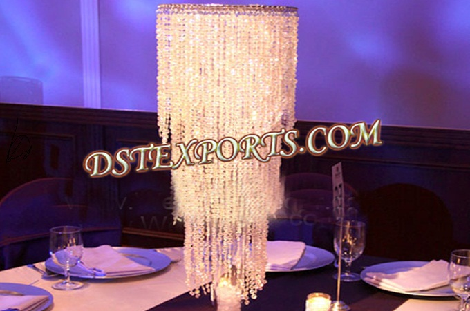 Wedding Crystal Jhoomer For Table Decors