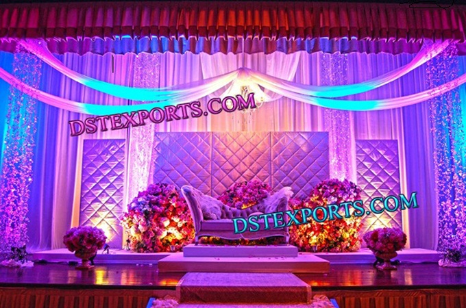 New Wedding Stage Paded Backdrop Panels