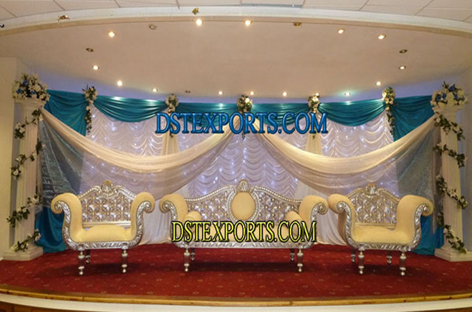 Newly Muslim Walima Wedding Stage Set