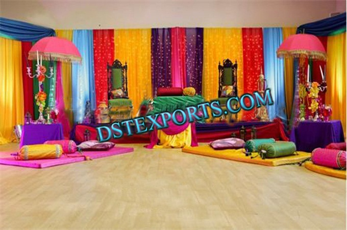 Punjabi Wedding Decor Stage Set