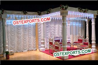 Wedding Six Pillars Mandap