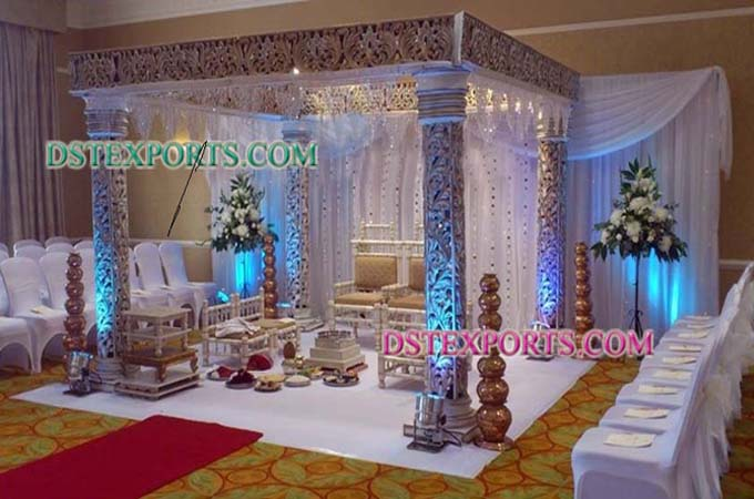 Wedding Pearl Square Mandap