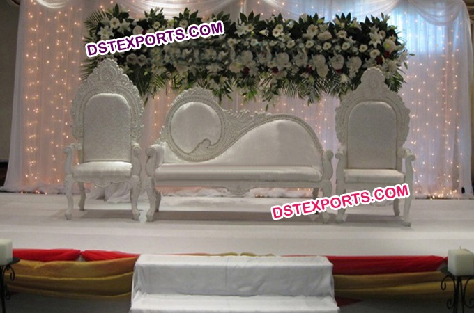 Asian Wedding White Love Furniture