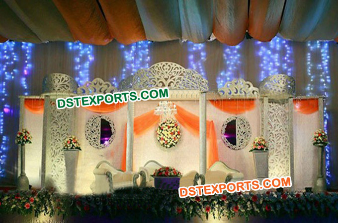 Wedding Stage Fiber Backdrop Screen