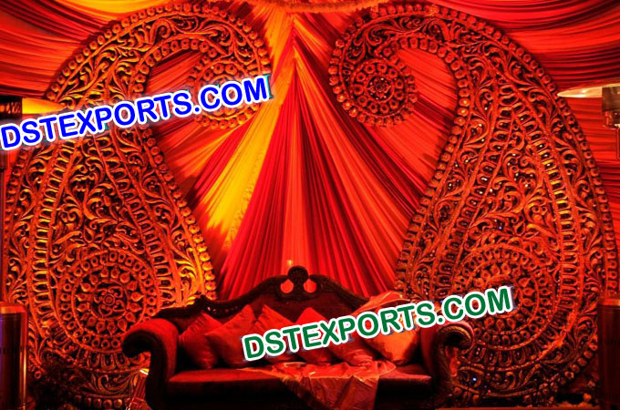 Asian Wedding Stage Carry Decoration