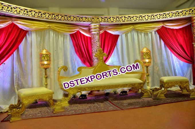 Muslim King Sofa Sets For Wedding