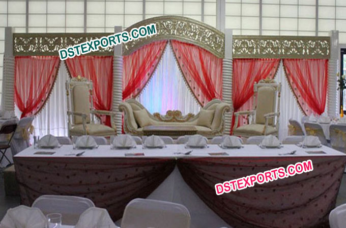 Asian Wedding Rich Stage