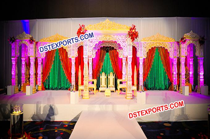 Royal Indian Wedding Stage