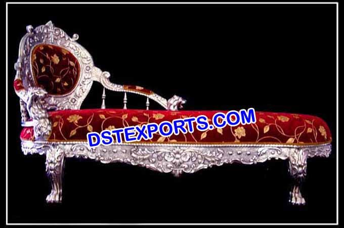 Hindu Wedding Silver Metal Coach