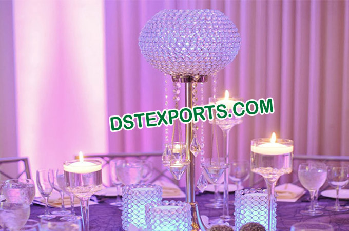 Wedding Crystal Ball Table Center Piece