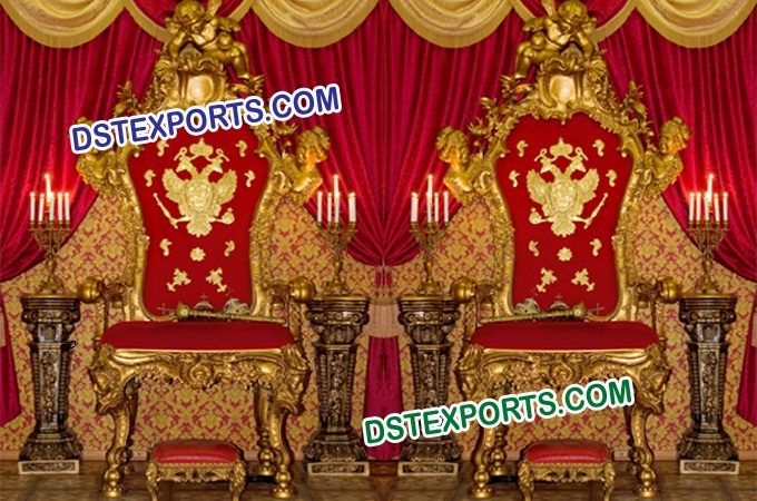 Royal Wedding Maharaja Chairs Set
