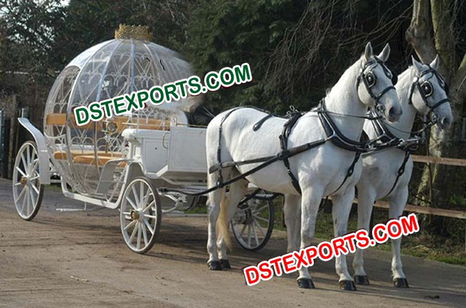 Cinderella Double Horse Drawn Carriage Manufacture