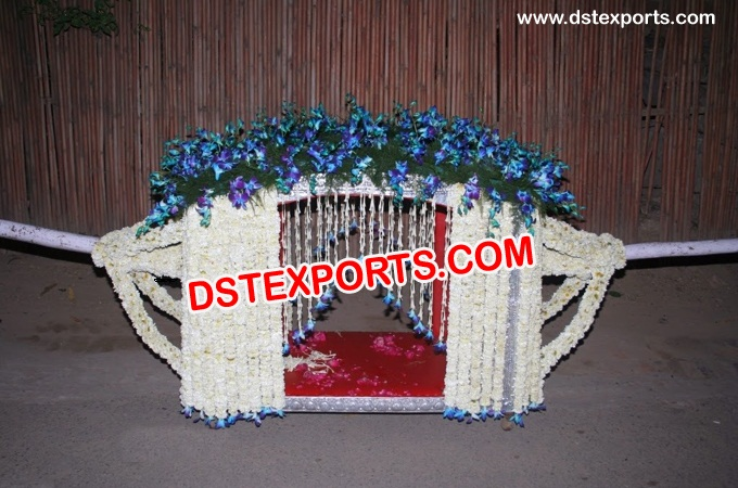 Inidan Wedding New Decorated Palki