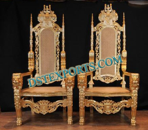 WEDDING KING CHAIRS