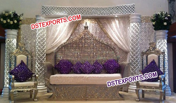 Jodha Akber Wedding Stage Furniture