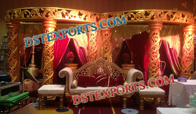 INDIAN WEDDING FIBER MANDAP