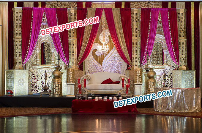 Indo Canadian Wedding Stage