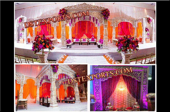 DECORATIVE BOLLYWOOD WEDDING MANDAP