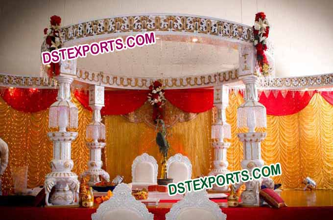 Indian Wedding Ganesha Mandap Set