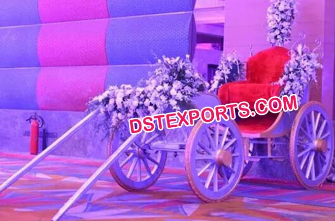 Wedding Bridal Entrance Carriage