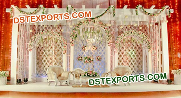 ELEGENT WEDDING STAGE BACKDROPS