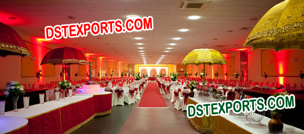 WEDDING HALL DECORATION UMBERALAS