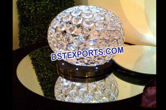 Beautiful Wedding Crystal Ball Stand